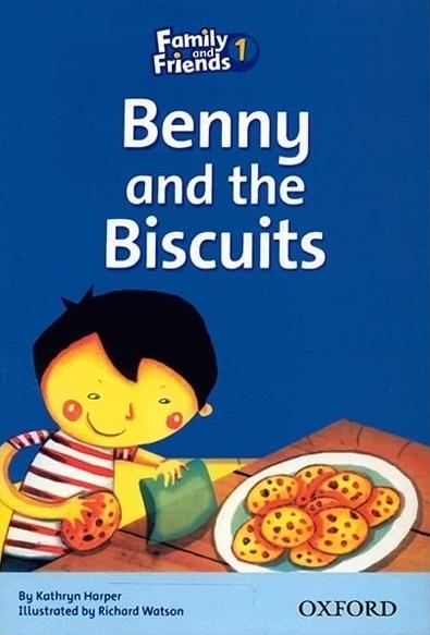 کتاب زبان Family and Friends Readers 1 Benny and the Biscuits