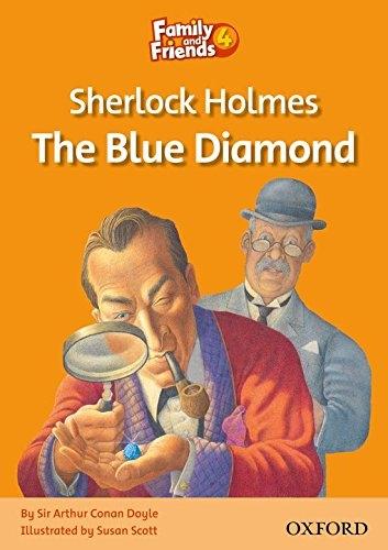 کتاب زبان Family and Friends Readers 4 Sherlock Holmes: The Blue Diamond
