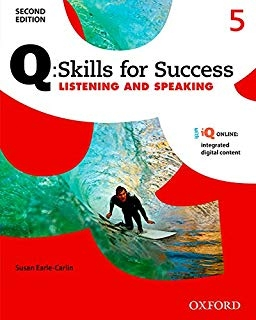 کتاب زبان Q Skills for Success 5 Listening and Speaking 2nd+CD