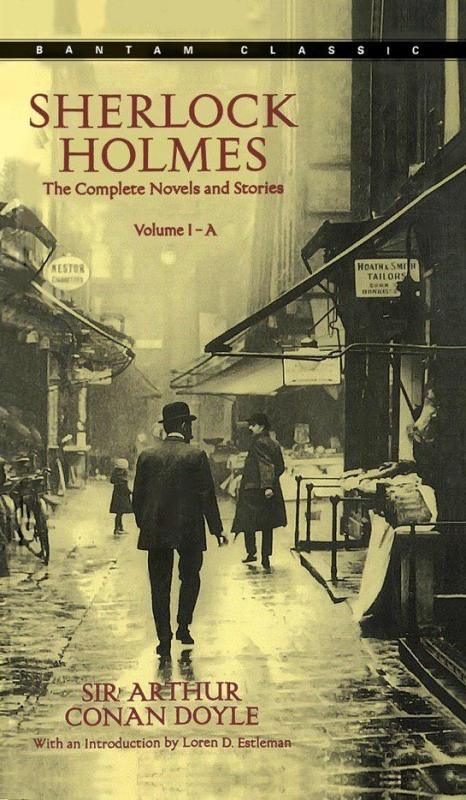 کتاب رمان شرلوک هلمز 3 جلدی Sherlock Holmes (A & B & C) The Complete Novels and Stories