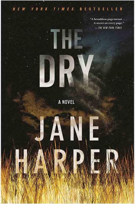 کتاب The Dry - Aaron Falk 1