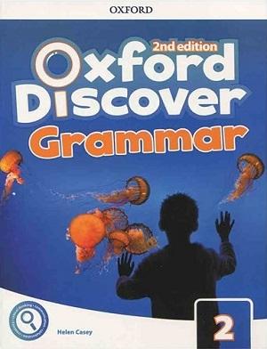 کتاب گرامر آکسفورد دیسکاور ویرایش دوم Oxford Discover 2 2nd - Grammar +CD