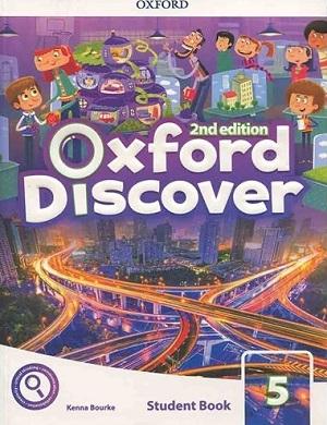 کتاب Oxford Discover 5 2nd - SB+WB+DVD