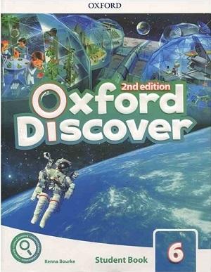 کتاب آکسفورد دیسکاور ویرایش دوم Oxford Discover 6 2nd - SB+WB+DVD