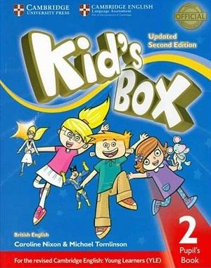 كتاب Kids Box 2 - Updated 2nd Edition SB+WB+CD