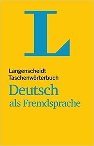كتاب Langenscheidt Taschenwörterbuch Deutsch als Fremdsprache