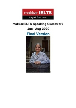 کتاب Makkar IELTS Speaking 2020