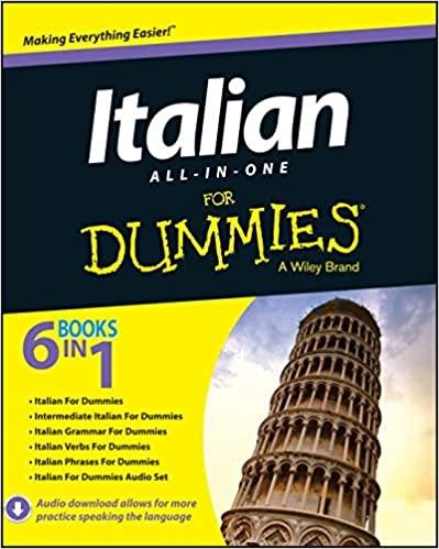 کتاب Italian All-in-One For Dummies