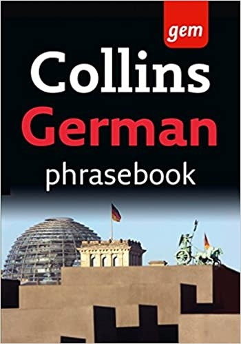کتاب آلمانی Collins Gem Easy Learning German Phrasebook