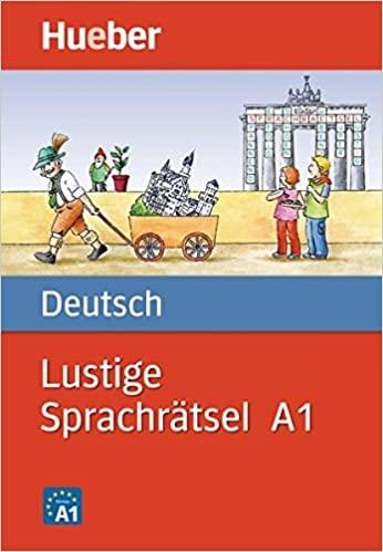 کتاب آلمانی LUSTIGE SPRACHRÄTSEL DEUTSCH.A1