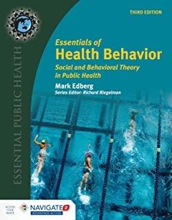 کتاب اسنشالز آف هلث بیهیویور Essentials Of Health Behavior