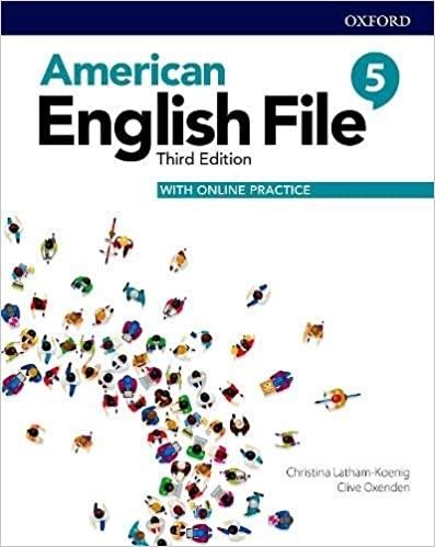 کتاب امریکن انگلیش فایل 5 ويرايش سوم : American English File 3rd Edition