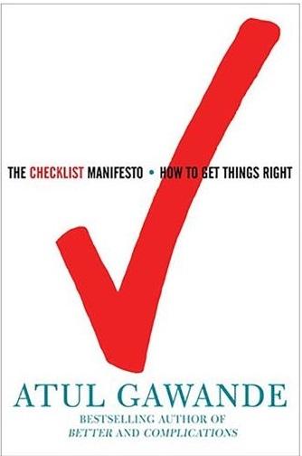 کتاب The Checklist Manifesto اثر آتول گوانده Atul Gawande