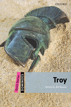 کتاب زبان New Dominoes (Quick Starter):Troy+CD
