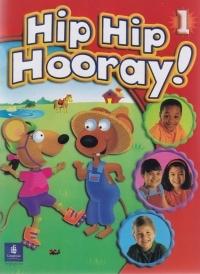 کتاب زبان Hip Hip Hooray! 1 Student Book & Activity Book with CD