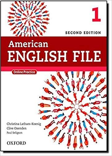 کتاب آموزشی امریکن انگلیش فایل American English File 2nd Edition: 1 رحلی
