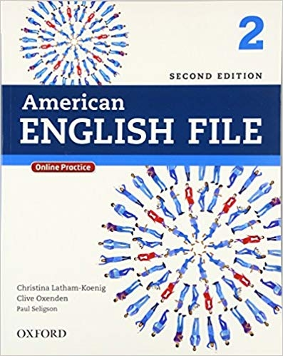 کتاب آموزشی امریکن انگلیش فایل American English File 2nd Edition: 2