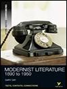 Modernist Literature: 1890-1950