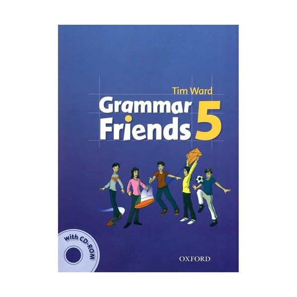 کتاب گرامر فرندز Grammar Friends 5 with CD