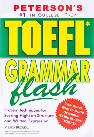 کتاب زبان TOEFL Grammar Flash