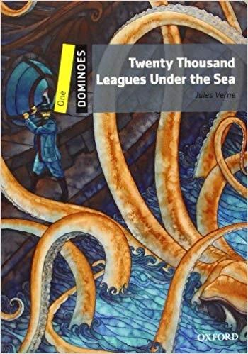 کتاب زبان New Dominoes (1): Twenty Thousand Leagues Under the Sea +CD