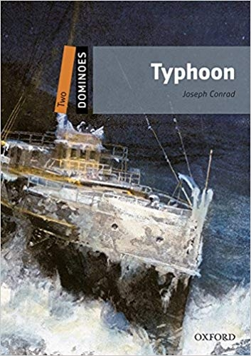 کتاب زبان New Dominoes (2): Typhoon +CD