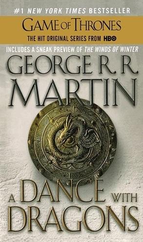 کتاب زبان A Dance with Dragons-Book 5