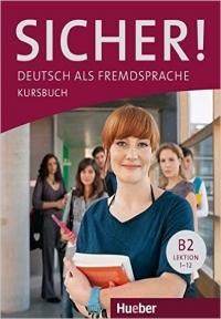 کتاب آموزشی آلمانی زیشر sicher! B2 deutsch als fremdsprache niveau lektion 1-12 kursbuch + arbeitsbuch