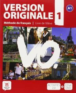 کتاب آموزشی فرانسوی Version Originale 1 + CD audio + DVD