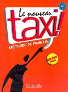 کتاب زبان le nouveau taxi 1 livre de l'eleve A1+ cahier d'exercices + dvd