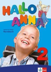 کتاب آلمانی هالو آنا Hallo Anna 2: Lehrbuch + Arbeitsbuch + CD