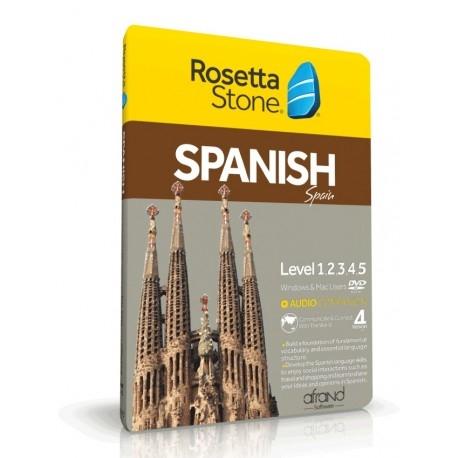 خودآموز زبان اسپانیایی ROSETTA STONE SPANISH