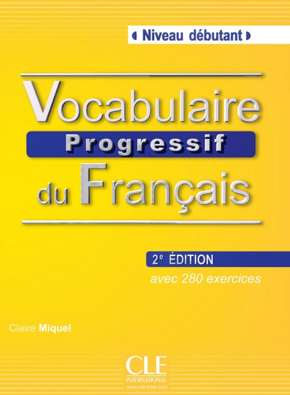 کتاب زبان Vocabulaire Progressive Niveau Debutant 2nd Edition