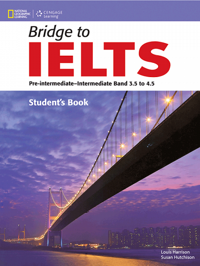کتاب زبان (Bridge to IELTS (SB+WB+CD