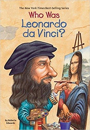 کتاب زبان Who Was Leonardo da Vinci