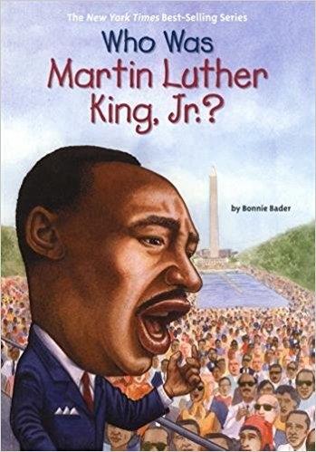 کتاب زبان Who Was Martin Luther King, Jr