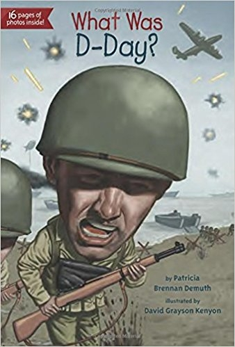 کتاب زبان What Was D-Day
