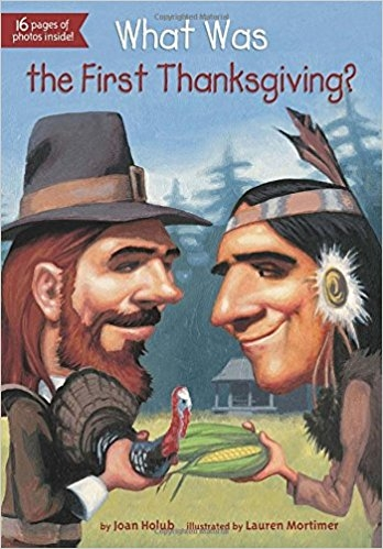 کتاب زبان What Was the First Thanksgiving