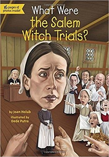 کتاب زبان What Were the Salem Witch Trials