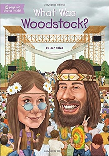 کتاب زبان What Was Woodstock
