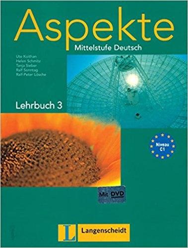کتاب آلمانی اسپکته قدیم Aspekte C1 mittelstufe deutsch lehrbuch 3 + Arbeitsbuch mit audio-CD
