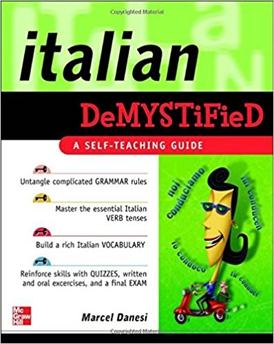کتاب زبان Italian Demystified: A Self Teaching Guide