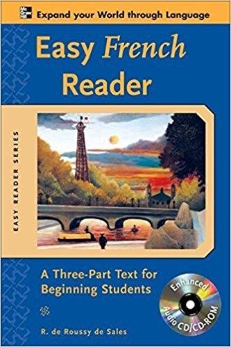 کتاب زبان Easy French Reader: A Three-Part Text for Beginning Students