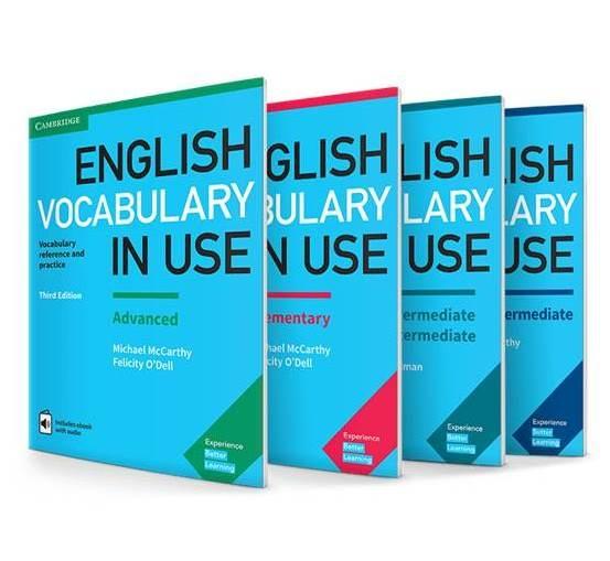مجموعه 4 جلدی English Vocabulary in Use British