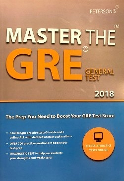 Master The GRE General TEST 2018