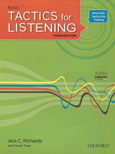 کتاب زبان بیسیک تکتیس فور لیسنینگ Basic Tactics for Listening Third Edition + CD