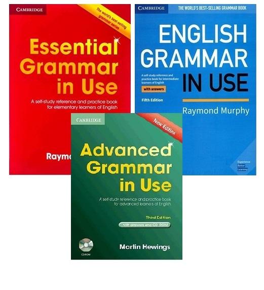 پک 3 جلدی گرامر این یوز بریتیش Grammar in Use British