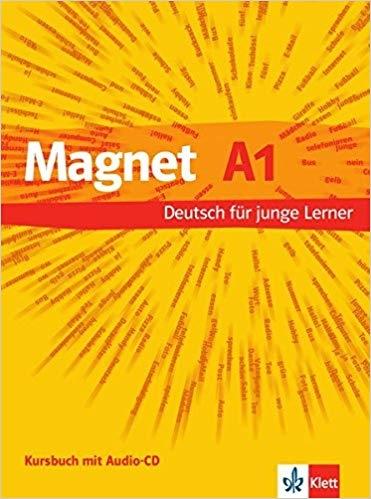 کتاب آلمانی مگنت Magnet: Kursbuch + Arbeitsbuch A1 MIT Audio-CD