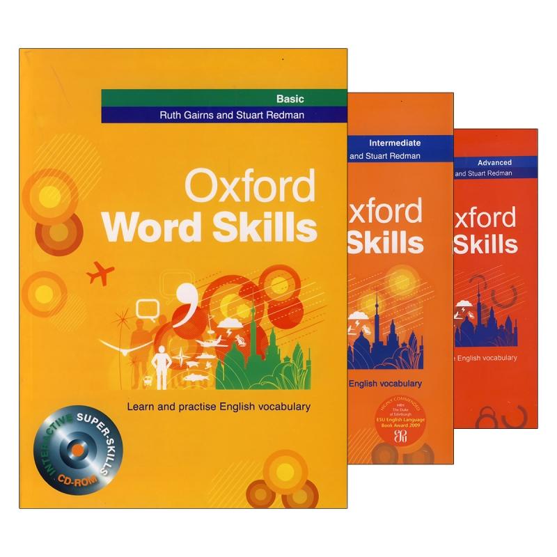 مجموعه 3 جلدی آکسفورد ورد اسکیلز Oxford Word Skills
