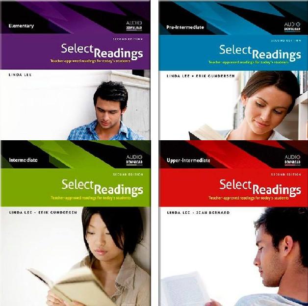 مجموعه چهار جلدی سلکت ریدینگ ویرایش دوم Select Reading 2nd Edition